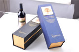 Fantastisches Paper Single Bottle Wine Box mit EVA Foam Insert