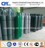 Baixo cilindro de alta pressão do aço sem emenda de dióxido de carbono do nitrogênio do oxigênio do argônio do preço 50L