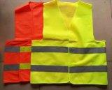 Veste reflexiva da segurança do tráfego do logotipo do ODM do OEM