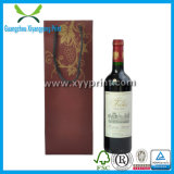 Kundenspezifisches Büttenpapier-Wein-Geschenk bauscht sich en gros