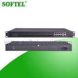 Support 256 ONU 8pon Gepon/Gpon Olt