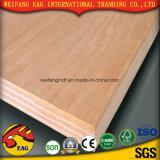 madera contrachapada del anuncio publicitario de la base del álamo de la cara de Plb del color rojo de 4.5m m