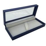 Rectángulo de empaquetado de la joyería de madera de papel de encargo del regalo