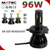 2016 Auto Accessory Car LED Headlight Kit H11 9007 9004 H13 H4 LED phare