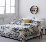 100%年の綿の寝具の慰める人セットのプリント寝具セット