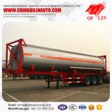 Véhicule de transport bon marché de conteneur de réservoir d'OIN des prix 40FT