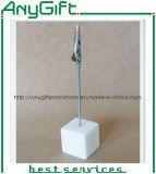 Clip encantador de la nota con el sostenedor de la resina con la insignia modificada para requisitos particulares 2
