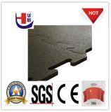 Bester Qualitätsbunter Sicherheitskreis-Gummifußboden-Fliese