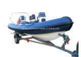 Canot automobile gonflable rigide de /Rib de bateau de pêche d'Aqualand 19feet (RIB570B)
