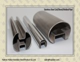 ASTM A554 om Buis van de Balustrade van het Roestvrij staal de Enige Ingelaste