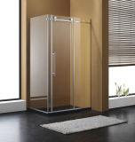 Cerco ereto livre do chuveiro do vidro Tempered de Frameless da porta do pivô