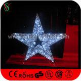 عالة عيد ميلاد المسيح تجاريّة كبير يعلّب نجم ضوء لأنّ مركز تجاريّ