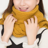 Venta al por mayor de acrílico de la calidad del OEM de la fábrica del fabricante de la bufanda de las nuevas del estilo del invierno mujeres calientes de la manera