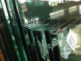 защитное стекло прокатанного стекла 8.38mm ясное, стеклянный ограждать