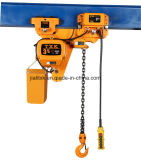 낮은 Headroom 3ton 1/1 Electric Hoist