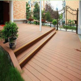 Decking Eco-Friendly da piscina de WPC com textura de madeira natural