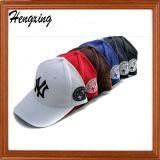 Berretto da baseball di punta di cuoio su ordinazione della maglia con il vostro marchio