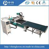 Führende Selbstschranktüren, Zeile CNC-Fräser produzierend
