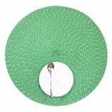 Gift 100% van Kerstmis Polyester Geweven Placemat voor Tafelblad en Decoratie