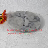 Каменный держатель мыла /Grey тарелки мыла /Marble тарелки мыла мраморный