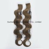 Путать освобождает 1-2 европейской лет ленты объемной волны Remy в выдвижениях волос