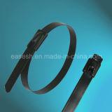 Überzogene Strichleiter Multi-Verschluss Ss316/Ss 304 Kabelbinder
