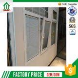 Stanza da bagno di vetro decorativa resa personale Windows (WJ-UPVC-059-C)