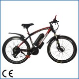 Bici eléctrica de aluminio de la batería de litio de la montaña del marco (OKM-683)