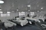 Fiberglas-Rumpf-Material-und Cer-Bescheinigung-steifes aufblasbares Boot 22FT