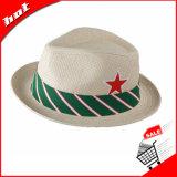 Сплетенный бумажный шлем Sun шлема Fedora шлема сторновки шлема