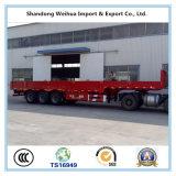 De Semi Aanhangwagen van de Vrachtwagen van de Lading van de zijgevel met 3 Assen van Fabrikant