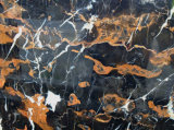 Negro y Cold Black Marble con Coffee Lines