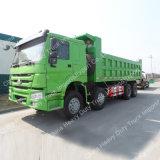 Vrachtwagen van de Stortplaats van Sinotruk HOWO 8*4 371HP de Euro II (ZZ3317N3867W)