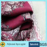 Gedrucktes Gewebe 100%Rayon für Mädchen-Kleider