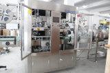 자동적인 두 배 맨 위 병과 모자 수축 소매 레테르를 붙이는 기계