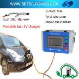 10kw EV portatif jeûnent le chargeur Chademo et CCS de C.C