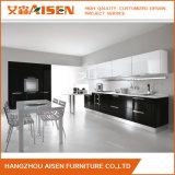Moderne und attraktive moderne schwarze Lack-Küche-Schränke
