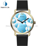 花カラー方法レディース・ウォッチの標準的なブレスレットの女性腕時計