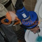 Máquina da limpeza do dreno da parte superior contrária de enguia elétrica