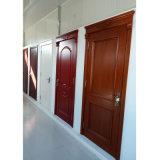 El último tipo puerta de madera simple pintada blanca moldeada HDF de la puerta