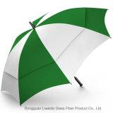 Ombrello di pubblicità resistente aperto di golf dell'ombrello della pioggia & del vento dell'automobile antivento