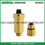 L'ottone personalizzato di qualità ha forgiato la valvola a sfera del cunicolo di ventilazione (IC-3067)