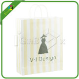 Bolsa de papel Kraft con Clear Window for Coffee / Estaño Tie