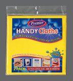 Sachets en plastique rescellables adhésifs de l'en-tête pp pour la consommation quotidienne (FLA-9505)