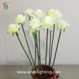 Luzes da flor artificial do diodo emissor de luz para o casamento