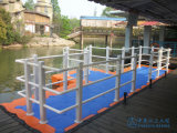 Het modulaire Drijvende Dok van de Boot van het Ponton
