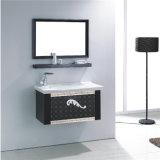 新しいデザイン壁に取り付けられた鋼鉄浴室用キャビネットの虚栄心