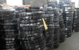 PVC黒いカラー高圧空気スプレーのガス水ホース