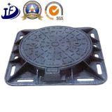 OEM 맨홀 차도 배수장치를 위한 연성이 있는 철 주물 맨홀 뚜껑