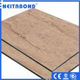 Materiales de construcción decorativos baratos del precio compuesto de aluminio del panel